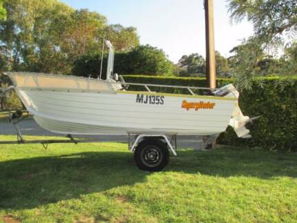 Stacer center console 4.6 mtr alloy boat Ingle Farm Salisbury Area Preview