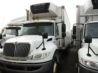 2009 International 4400 6x4, Used Reefer Van