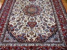 Genuine Isfahan Persian Carpet - NEW - Stored 15 years Mount Victoria Blue Mountains Preview