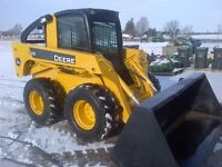 2008 John Deere 328 Skid Steer - 2 Speed with Cab