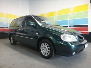 2001 Kia Carnival LS British Racing Green 4 Speed Automatic Wagon Wangara Wanneroo Area Preview