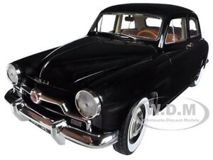 1953 SIMCA ARONDE BLACK 1/18 DIECAST CAR MODEL BY NOREV 185740