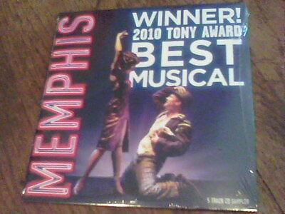 Memphis winner 2010 Tony Award Best Musical 5 track CD sampler