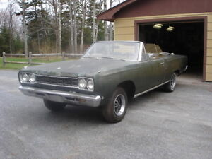 1968 Plymouth Satelite Convertible (Barn Find)