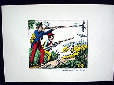 Vintage Imagerie Pellerin d'Epinal Everyday Scenes Greeting Cards InvEE
