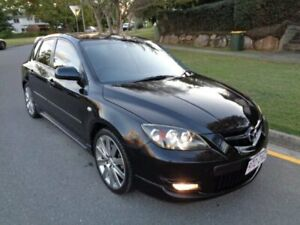 2007 Mazda 3 BK MPS Sports Pack Black 6 Speed Manual Hatchback Chermside Brisbane North East Preview