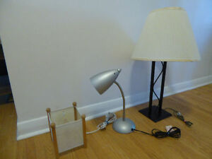 Desk/Table Lamps of Your Choice