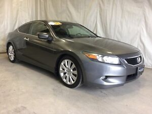 2008 Honda Accord Cpe EX-L-A STEAL @ $9995 !