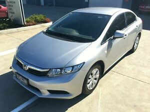 2012 Honda Civic 9th Gen Ser II VTi Silver 5 Speed Sports Automatic Sedan Yamanto Ipswich City Preview