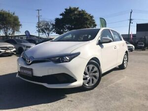 2015 Toyota Corolla ZRE182R MY15 Ascent White 7 Speed CVT Auto Sequential Hatchback Coopers Plains Brisbane South West Preview