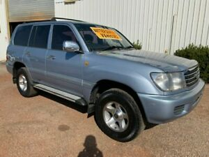 2002 Toyota Landcruiser FZJ105R GXL Blue 4 Speed Automatic Wagon Durack Palmerston Area Preview