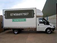 Man and big van 07456 697507 house moves or furniture collection