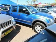 2005 Holden Rodeo RA MY05.5 LX Crew Cab 4x2 Blue 4 Speed Automatic Utility Minchinbury Blacktown Area Preview