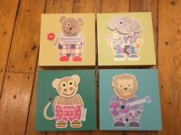 Set of 4 Baby/Kids Pictures