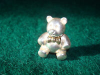 TIFFANY & CO. SILVER TEDDY BEAR BROOCH
