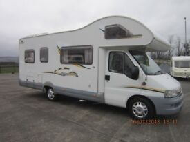 2002 SWIFT SUNTOR 630L 2.8 6 BERTH MOTORHOME WITH ONLY 38K MILES ANDERSON MOTORHOME SALES