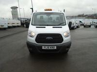 Ford Transit 2.2 Tdci 125Ps Single Cab Tipper DIESEL MANUAL WHITE (2016)