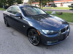 2008 BMW 335xDRIVE/RED LEATHER/COUPE/NO ACCIDENT/SUNROOF
