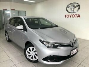 2017 Toyota Corolla ZRE182R MY17 Ascent Silver Pearl 7 Speed CVT Auto Sequential Hatchback Bungalow Cairns City Preview