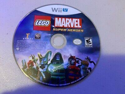 LEGO Marvel Super Heroes (Nintendo Wii U, 2013) - DISC ONLY