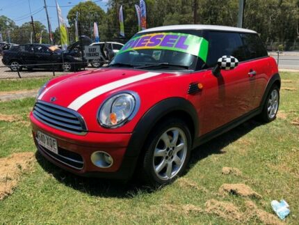 2009 Mini Cooper R56 D Red 6 Speed Manual Hatchback Clontarf Redcliffe Area Preview