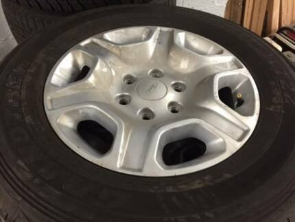 Ford Ranger PX MK2 17 inch Wheels & Tyres (SET OF x 4)