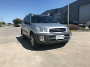 2002 Toyota RAV4 ACA21R Edge (4x4) Silver 4 Speed Automatic 4x4 Wagon Newport Hobsons Bay Area Preview