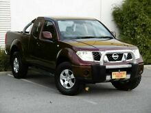 2008 Nissan Navara D40 ST-X King Cab Maroon 5 Speed Automatic Utility Melrose Park Mitcham Area Preview