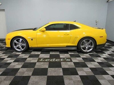 2010 yellow ss rs transformers bumblebee edition used chevrolet camaro for sale in gonzales. Black Bedroom Furniture Sets. Home Design Ideas