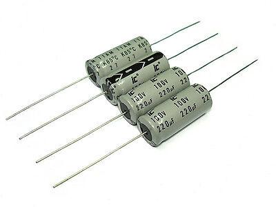 Aluminum Electrolytic 0.47UF to 220UF 100VDC Illinois Capacitor *NOS!*
