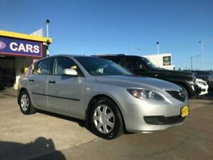 2007 Mazda 3 BK MY06 Upgrade Neo Silver 4 Speed Auto Activematic Hatchback Cardiff Lake Macquarie Area Preview