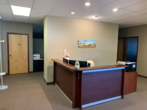 Office Space for rent with, 6 spacious offices, & boardroom