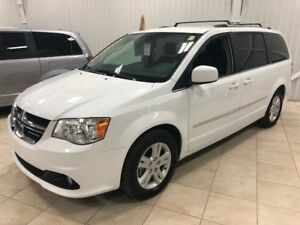 2017 Dodge Grand Caravan Crew Plus *DVD*CUIR*CAMÉRA*BLUETOOTH*MA