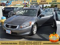 2008 Honda Accord EX-L Sedan AT, SUNROOF, LEATHER, ONLY $61/Week