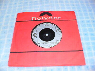 THE JOLT UK 45 1978 POLYDOR RECORDS,WHAT CHA GOONA DO ABOUT IT / AGAIN & AGAIN