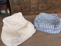 2 Bean Bag Arm Chairs from The Great Little Trading Company