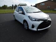 2014 Toyota Yaris NCP130R Ascent White 4 Speed Automatic Hatchback Ballina Ballina Area Preview