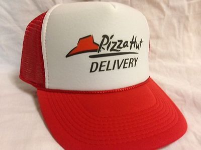 Pizza Delivery Costume Hat  Easy & Quick Halloween low cost Adjustable rush ship - Pizza Costumes
