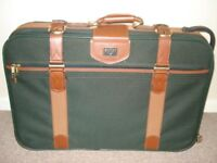 ANTIQUE ANTLER SUITCASE
