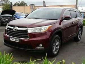 2014 Toyota Kluger GSU50R GXL (4x2) Red 6 Speed Automatic Wagon South Nowra Nowra-Bomaderry Preview