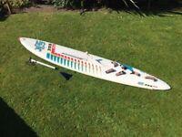 Hi Fly 355 Fun windsurfer Board
