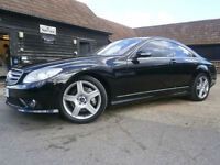 "07 MERCEDES BENZ CL 500 5.5 V8 7 G-TRONIC COUPE 63K FMDSH AMG STYLING 19"" ALLOYS"