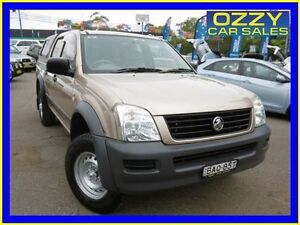 2006 Holden Rodeo RA MY06 Upgrade LX Gold 4 Speed Automatic Crew Cab P/Up Penrith Penrith Area Preview