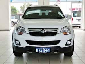 2013 Holden Captiva CG MY12 5 (4x4) White 6 Speed Automatic Wagon Morley Bayswater Area Preview