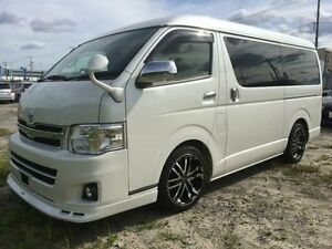 2015 Toyota Hiace 10 Seater LWB GL Low Roof Wide Body White Automatic Wagon Concord Canada Bay Area Preview