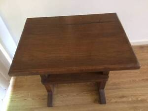 Solid timber side table/coffee table Coffs Harbour Coffs Harbour City Preview