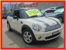 2007 Mini Hatch R50 MY05 Cooper White 6 Constantly Variable Transmission Hatchback Holroyd Parramatta Area Preview