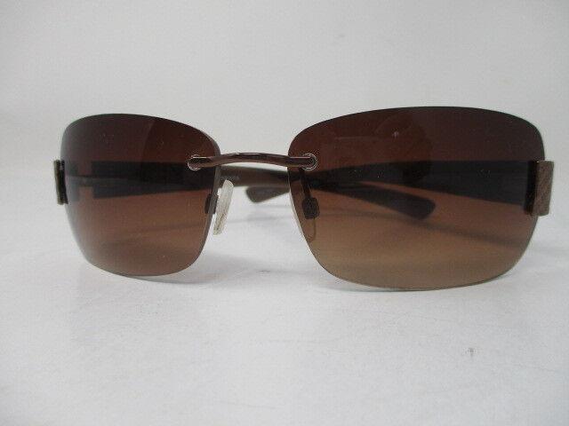Oscar De La Renta Brown Frameless Sunglasses 2032 041