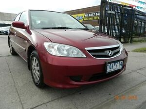 2005 Honda Civic 7TH GEN GLi Maroon 4 Speed Automatic Sedan Williamstown North Hobsons Bay Area Preview