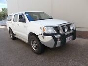 2007 Toyota Hilux GGN25R MY07 SR White 5 Speed Automatic Utility Slacks Creek Logan Area Preview